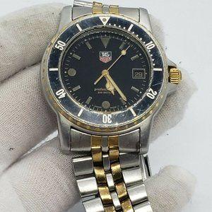 Vintage TAG Heuer 1000 Professional Men's Watch